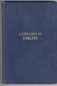 A Genealogy of Corleys by Dewitt C. Corley (1927)