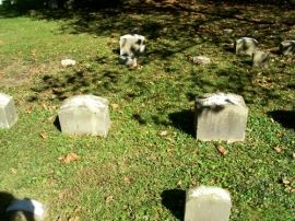 Wilson M. (left) and Elizabeth N. Tylor's Headstones