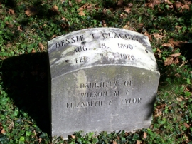 Bessie T. Claggett (Daughter) Headstone