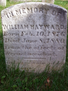 Willie Hayward's Gravestone