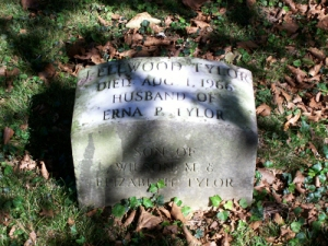 J. Ellwood Tylor (Son) Headstone