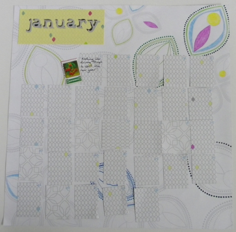 Scrapbook for Calendar Journaling